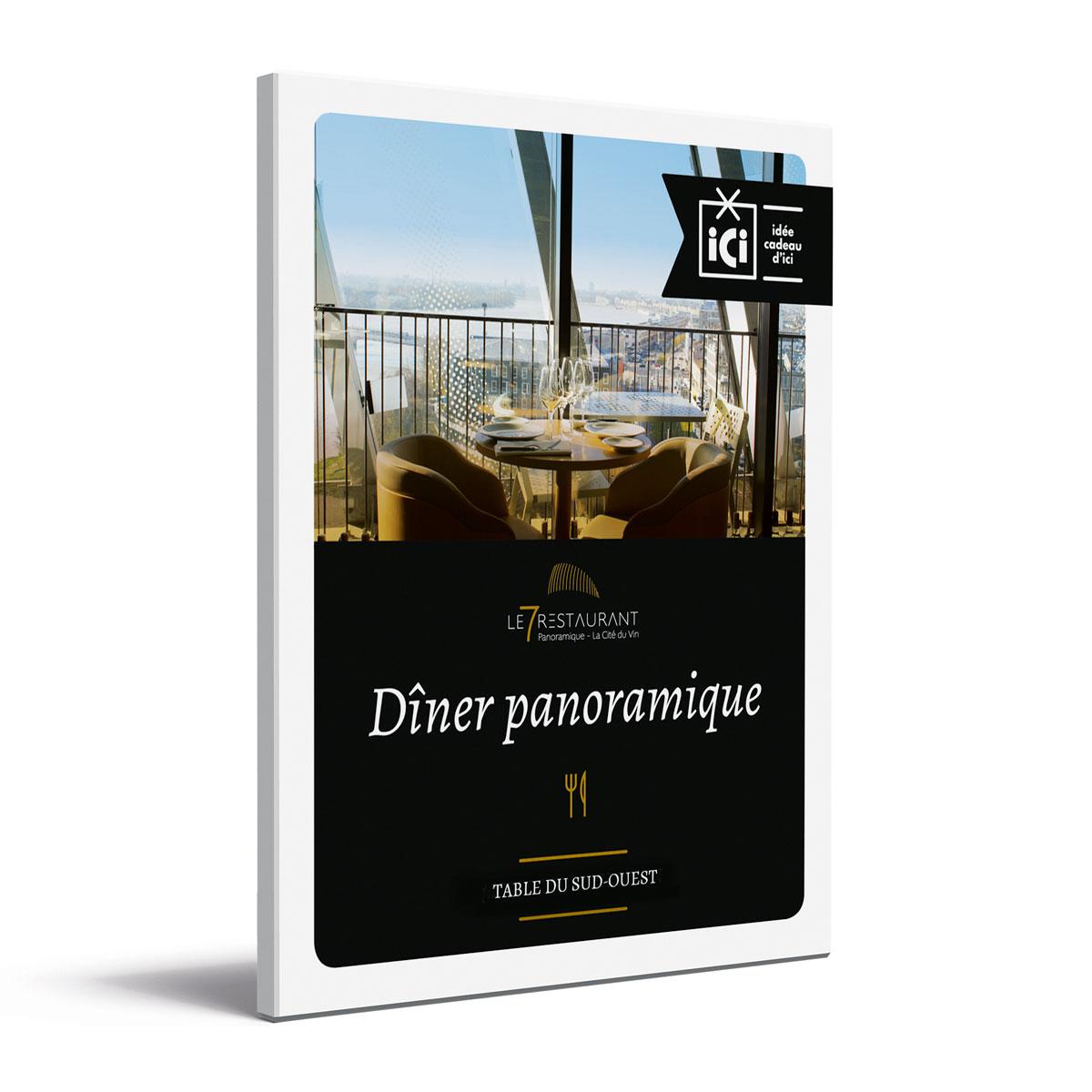 Coffret Cadeau Le 7 Restaurant Panoramique